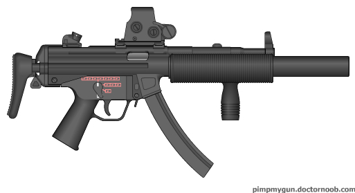 Modified MP5-SD